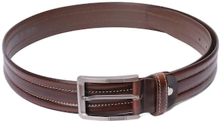 Red Chief Men Brown Leather Belt (Size: 40 , Pack of 1 )