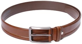 Red Chief Men Brown Leather Belt (Size: 36 , Pack of 1 )