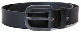 Red Chief Black Men's Leather Casual Belt  (A80135 001)