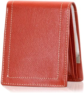 RFID Safe POLLSTAR Men's Genuine Leather Deluxe Wallet with 9 ID Pocket (WL790TN)