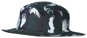 Round hat army forest style caps