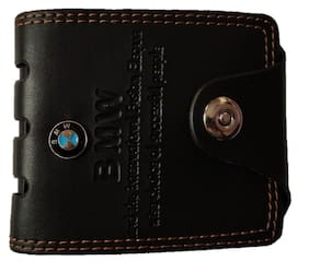Darwin Clark Men Black Pu Bi-Fold Wallet ( Pack of 1 )