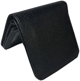 ROZVOLT Men Black Pu Bi-Fold Wallet ( Pack of 1 )