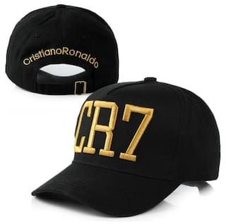 b87778c8b45 Buy Saifpro Black Embroidered Stylish Cool Cap For Men And Women ...