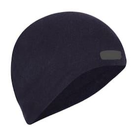 fdd041a7391 SAIFPRO Cotton Helmet Skull Cap ( Black) For Boys Mens