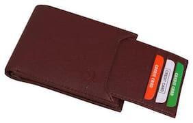 Samtroh Brown Wallet For Men's