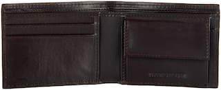 Sandilor Classic Pu Leather Black Wallet