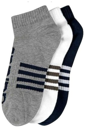 Sandilor Multi Cotton Ankle length socks ( 3 pairs )
