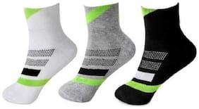 Men Ankle Length Socks Pack of 3 ( Multi )