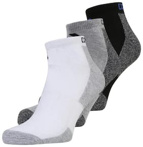 Sandilor Multi Cotton Ankle length socks ( Pack of 3 )