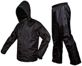 Sentom Polyester Complete Raincoat With Pent And Carry Bag