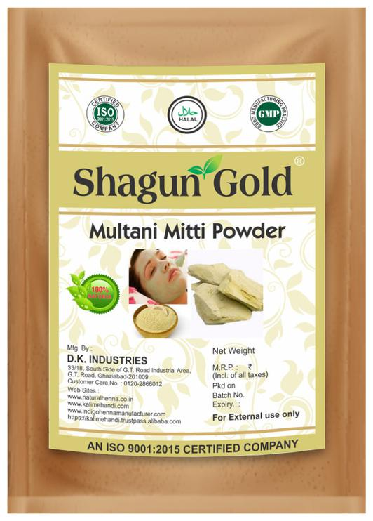 Shagun Gold 100% Natural Multani Mitti Powder 100g