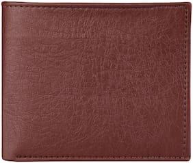 ShopMantra Men Brown Leather Bi-Fold Wallet ( Pack of 1 )