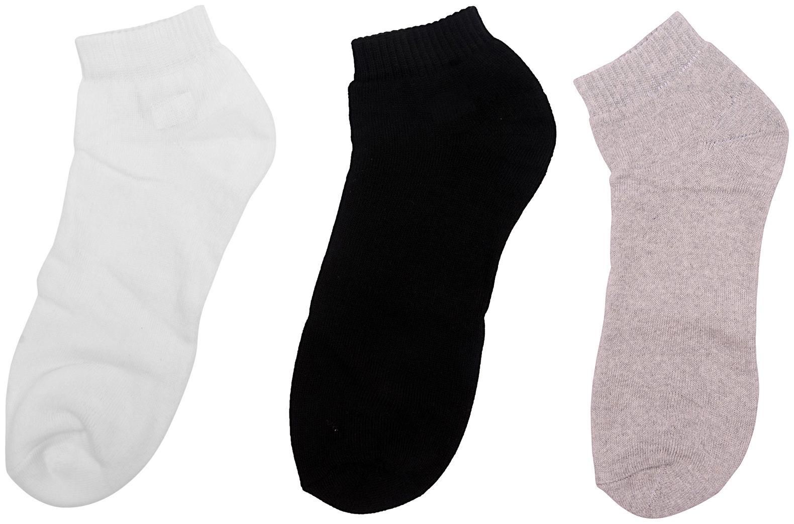 Shopper52  Multicolour Men's Women's Cotton Ankle Length Socks Looks Good in Formal Sports Western   SOCK
