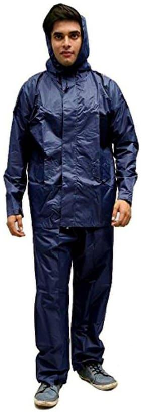 Shree Jee Men Xl Ponchos - Navy blue