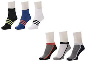 Signara Ankle Length Socks ( Pack Of 6 )