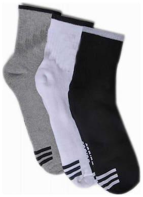 Signara Designer Ankle Length Socks ( Pack Of 3 )