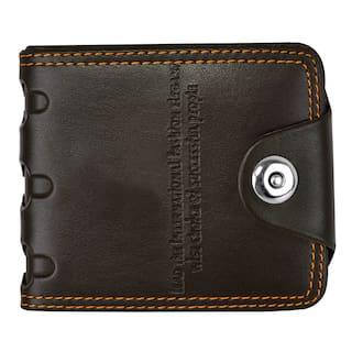 Skmei Men Brown Leather Bi-Fold Wallet ( Pack of 1 )