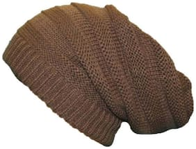 Slouchy woolen Long Beanie Cap for Winter