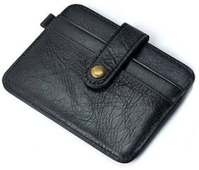 Southpole Fashions Genuine Leather Card Holder Black
