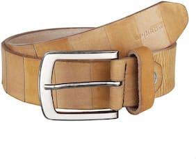 Spairow Men'S Brown 100% Genuine Leather Belt (BRON-0402)