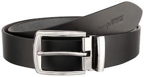 SPAIROW RB Men'S Black Leather  Belts