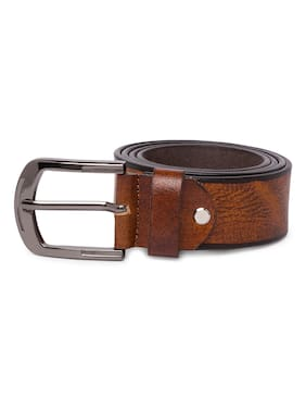 Spykar Mens Brown Genuine Leather Belts
