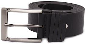 Spykar Mens Black Genuine Leather Belts