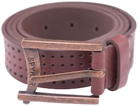 Spykar Men Brown Leather Belt (Size: 36 , Pack of 1 )
