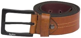 Spykar Mens Brown Genuine Leather Belts