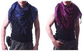 sri belha fashions Women Cotton Scarves - Multi
