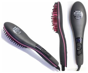 Starvis Simply Straight  Digital Display With Temperature Ceramic Straightening Brush (ASSORTED)