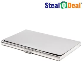 Stealodeal Stainless Steel Card Holder
