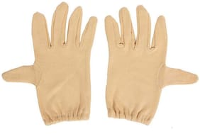 Stonic Unisex Cotton Glove - Beige