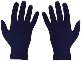Stonic Unisex Cotton Glove - Blue