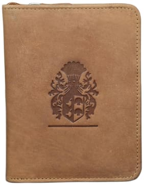 Style 98 TanPremium quality Leather Travel Card Holder Wallets