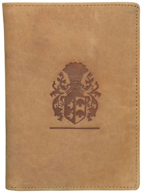 Style 98 Tan Premium quality Leather Travel Card Holder Wallets For Men
