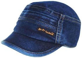 Stylish Looks Blue Jeans Skull Cap