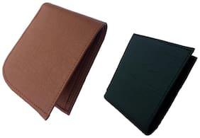 Men Leather Bi-Fold Wallet ( Assorted )