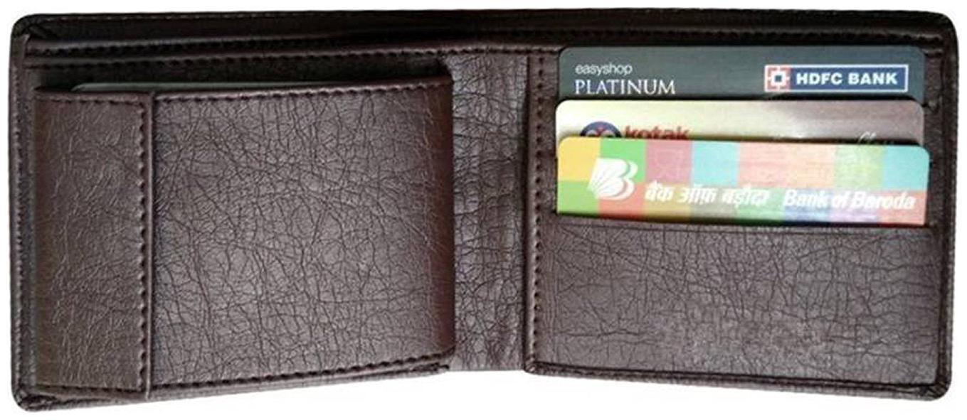 Stylish Wallet For Men, Original Leather, Tan Color