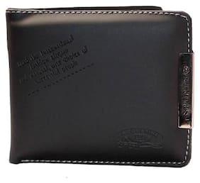 JARS Collections Men Black Pu Bi-Fold Wallet ( Pack of 1 )