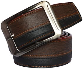 Sunshopping Men Multi Synthetic leather Belt (Size: Free size , Pack of 1 )