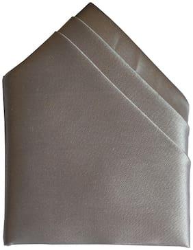 Sunshopping Satin Pocket Square - Grey
