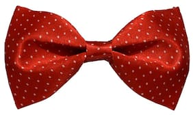 Sunshopping men's multi coloured neck bow tie (Pack of 1)