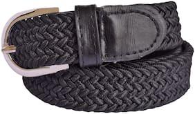 Women Synthetic Belts ( Black )