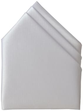 Sunshopping Satin Pocket Square - White