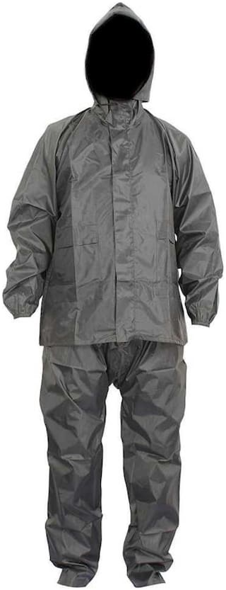Supreme Home Collective Raincoat With Pant- Grey