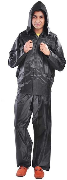 Supreme Home Collective Raincoat With Pant- Black