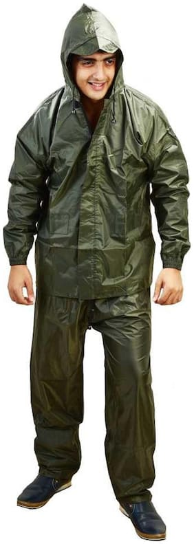 Supreme Home Collective Raincoat With Pant- Green