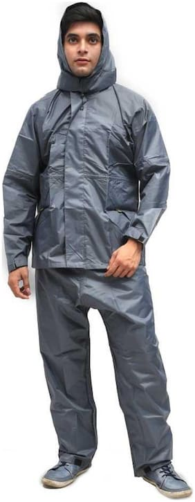 Supreme Home Collective Raincoat With Pant-Grey